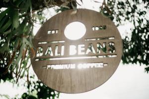 Bali Beans Sign